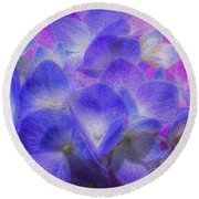 Nature's Art Round Beach Towel by Paul Wear