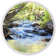 Nature's Beauty Round Beach Towel