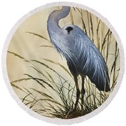 Natures Grace Round Beach Towel