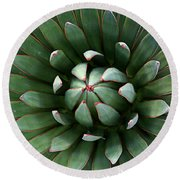 Nature's Perfect Abstract Round Beach Towel