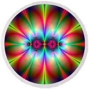 Neonisity Round Beach Towel