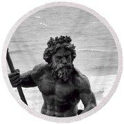 Neptune Round Beach Towel