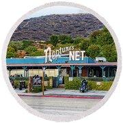 Neptune's Net Round Beach Towel