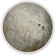 Nevermore... Round Beach Towel