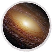 Ngc 2841 Round Beach Towel