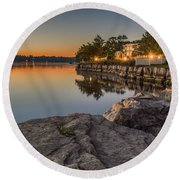 Niagara On The Lake  Round Beach Towel