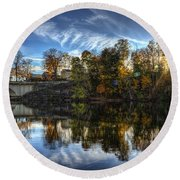 Niles Reflections Round Beach Towel