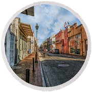 Nola French Quarter Round Beach Towel