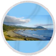 North Coast Round Beach Towel