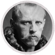 Norwegian Fridtjof Nansen Round Beach Towel