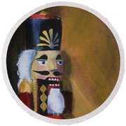 Nutcracker II Round Beach Towel