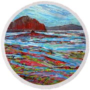 Oak Bay Nb Round Beach Towel