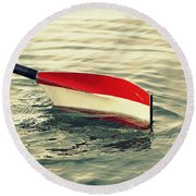 Oar Round Beach Towel