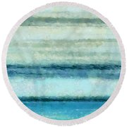 Ocean 4 Round Beach Towel