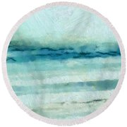Ocean 7 Round Beach Towel