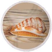 Ocean Shell Round Beach Towel