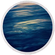 Ocean Twilight Round Beach Towel