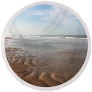 Ocean Vista Round Beach Towel