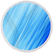 Oceans Round Beach Towel
