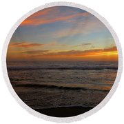 Round Beach Towel featuring the photograph October Beauty by Dianne Cowen