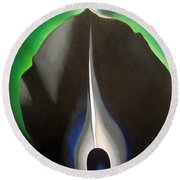 O'keeffe's Jack In The Pulpit No. V Round Beach Towel