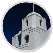 Old Adobe Mission Scottsdale Round Beach Towel