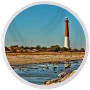 Old Barney Round Beach Towel
