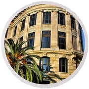 Old Courthouse-new Orleans Round Beach Towel