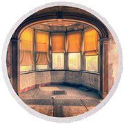 Old Dining Room  Round Beach Towel
