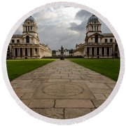 Old Royal Naval College Round Beach Towel