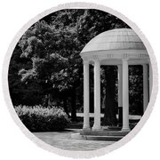 Old Well At Unc Round Beach Towel