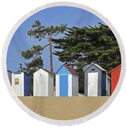 Round Beach Towel featuring the photograph Oleron 6 by Arterra Picture Library
