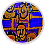 Once A Laker... Round Beach Towel