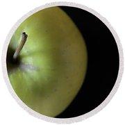 One Apple - Still Life Round Beach Towel