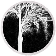 One More Tree Round Beach Towel
