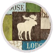 Open Season 1 Round Beach Towel by Debbie DeWitt
