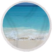 Open Waters Round Beach Towel