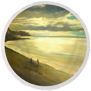 Opera Plage - In Nice Round Beach Towel