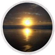 Oregon Coast 15 Round Beach Towel