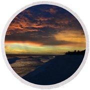 Our Treasures Round Beach Towel
