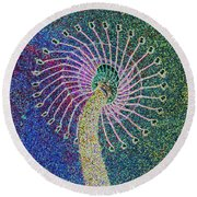 Out Of Control Round Beach Towel by Aimee L Maher Photography and Art Visit ALMGallerydotcom