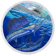 Out Of Sight Round Beach Towel
