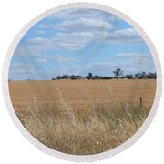 Outback  Round Beach Towel