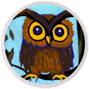 Owlette Round Beach Towel