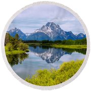 Oxbow Summer Round Beach Towel