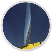 P51 Round Beach Towel