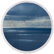 Pacific Highlights Round Beach Towel