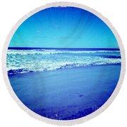Pacific Rays Round Beach Towel