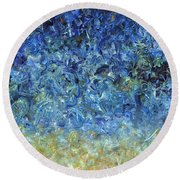 Paint Number 59 Round Beach Towel