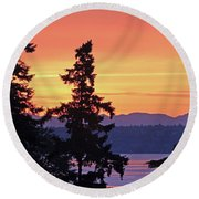 Painter's Delight Round Beach Towel